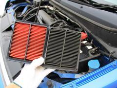 車のエアフィルター(エアクリーナー)を交換する効果と燃費との関係性