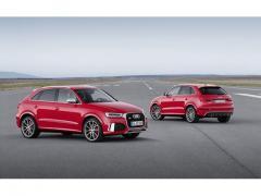アウディ、「Q3」「RS Q3」の一部仕様を変更 燃費性能を向上