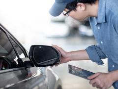 車のサイドミラーの正しい位置・角度と合わせ方・調整方法
