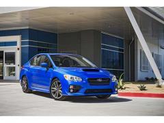 【スバル】「WRX」の2016年モデルが米国安全性能試験で最高評価