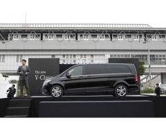【メルセデス・ベンツ】新型「Vクラス」の日本導入を発表