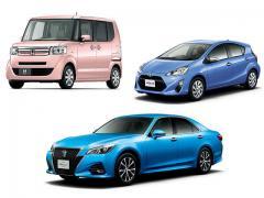 10月の新車販売台数はトヨタ「アクア」がトップ