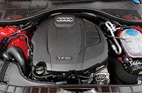 アウディ A6 アバント エンジン
