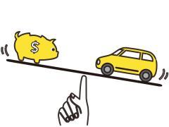 コンパクトカーと軽自動車の維持費や税金はどれだけ違う?