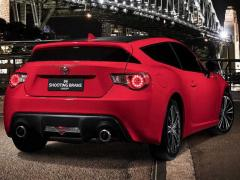 トヨタ、「86シューティングブレーク」を豪で発表