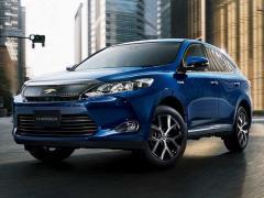 トヨタ、「ハリアー」の特別仕様車「Style ASH」を追加