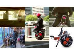 駐車スペースを探す必要なし!? かんたんライド&パークの電動一輪バイク