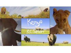 ケニアの大草原を走るラジコンカーの「GoPro」映像は迫力満点!