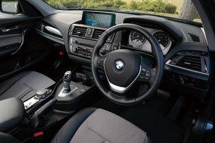 BMW 1シリーズ コックピット