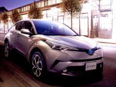 トヨタ、新型コンパクトSUV「C-HR」を発売