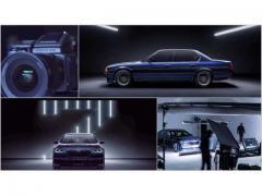 硬派な美しさにうっとり! BMWアルピナのカレンダーの撮影風景
