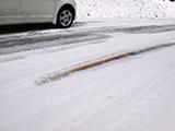 夏タイヤで凍結路(アイスバーン)を走行する場合の注意点